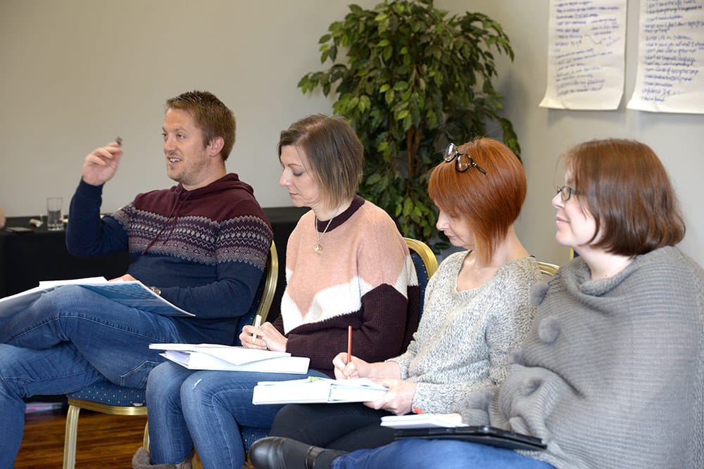 NLP Practitioner Training Course Attendees