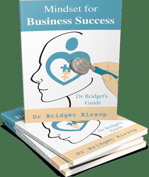 Mindset For Business Success Book 3D